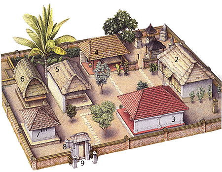 Balinese House Architecture