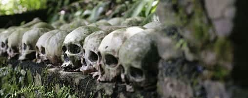 Ancient Funerary Methods Of Trunyan Village In Bali