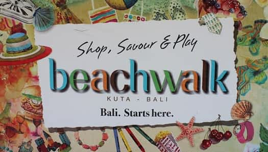 Beachwalk Kuta Beach - Bali Start Here