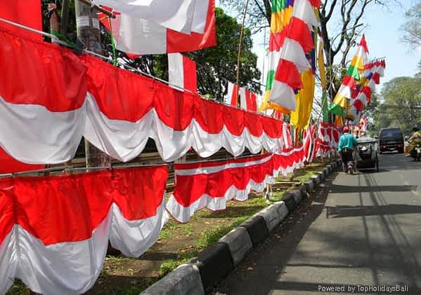 Merah Putih Celebrations of the Independence Day
