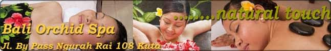 Bali Orchid Spa Banner